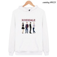 catalog 09123 New Hot Riverdale Hoodies men/women High Quality Harajuku Men's Hoodie and Sweatshirt Riverdale Fashion Clothe