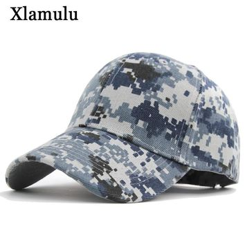 Trendy Winter Jacket Xlamulu Men Baseball Caps Hats For Women Camouflage Band Men Snapback Caps Casquette Army Green Bone Hat Gorras Men Casual Hat AT_92_12