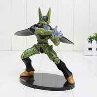 17cm Anime Dragon Ball Z Figurines Cell Brinquedos PVC Dragonball Action Figure Model Doll Kids Toys Birthday Gift