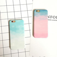 Colorful phone case for iPhone 7 7 plus iphone 6 6s 6 plus 6s plus + Nice gift box 080902