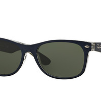 Look who's looking at this new Ray-Ban New Wayfarer Bicolor