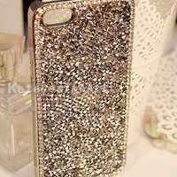 luxury iphone 4 cases,unique iphone 5 case iphone cover skin iphone case - silver shiny iphone 4s cases