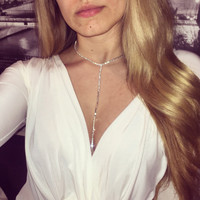 New style fashion jewelry accessories crystal  punk  body chain for women sexy statement body chains BN-9