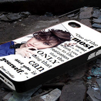 Demi Lovato Quote One Of The most - iPhone 4/4s, iPhone 5/5s/5c, Samsung Galaxy s3 i9300, Samsung Galaxy s4