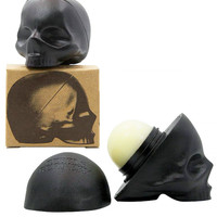 Skull Lip Balm by Rebels Refinery (Black)