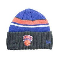 New York Knicks New Era Winter Knit Hat NWT NBA NY Hardwood new with tags OSFA