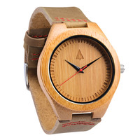 Wooden Watch // Frank Red
