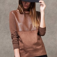 Combined tricot jersey - KNITWEAR - WOMAN | Stradivarius Republic of Ireland