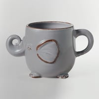 Gray Elephant Mug - World Market