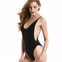 Side Boob Backless Swimsuit