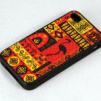 African Tribal Pattern iPhone 4 iPhone 4S Case