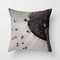 Coming Back Around Throw Pillow by Olivia Joy StClaire