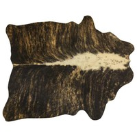 Pre-owned Cow Hide Rug - 3' x 5'