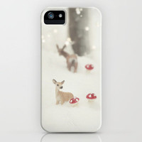 BAMBI **Coming Home** iPhone Case by SUNLIGHT STUDIOS   for iPhone 5 +4S +4 +3GS +3G *** The perfect gift for christmas!