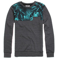 On The Byas Justin Pieced Printed Crew Fleece at PacSun.com