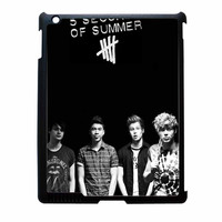 5 Seconds Of Summer Poster Black iPad 3 Case