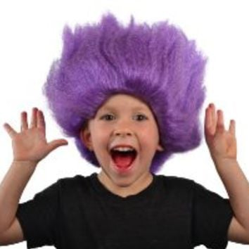 My Costume Wigs Evil Minion Wig (Purple) One Size fits all