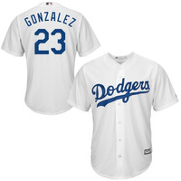 Adrian Gonzalez L.A. Dodgers Majestic Official Cool Base Authentic Collection Player Jersey – White