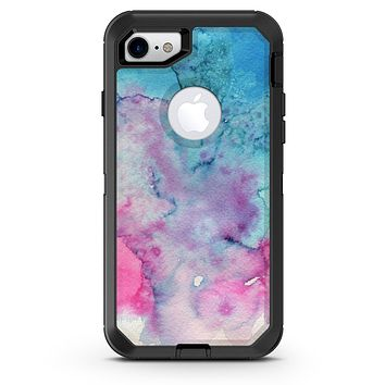 Blue 2 Absorbed Watercolor Texture - iPhone 7 or 8 OtterBox Case & Skin Kits