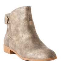 BC Footwear Shoes, Building Block Ankle Bootie