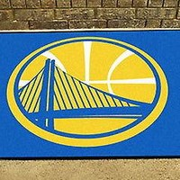 Golden State Warriors Bath Mat Shower Bathroom Area Rug