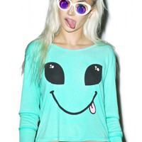 Wildfox Couture I Come In Peace Babysitter Tee | Dolls Kill