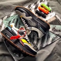 Nike Air Max 1 Off-White Black   Basketball Sneaker