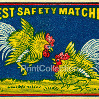 Best Safety Matches, Roosters, Japan?