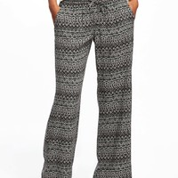 Mid-Rise Soft Wide-Leg Pants for Women | Old Navy