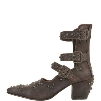 Free People for Women: Harvest Moon Wine Ankle Boots