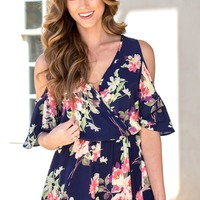 Watch It Bloom Romper | Monday Dress