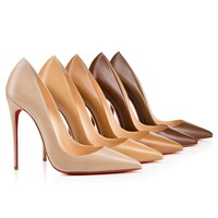 So Kate 120mm Nats Nude Leather
