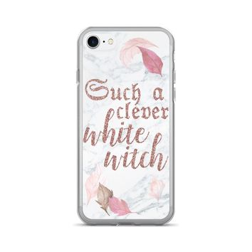 Hocus Pocus - Such a Clever White Witch - iPhone 7/7 Plus Case