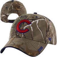 Chicago Cubs '47 Brand Frost Adjustable Hat – Realtree Camo