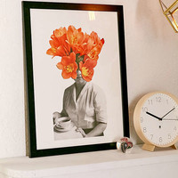 Hagar Vardimon Orange Art Print | Urban Outfitters