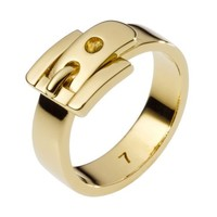 Gold Tone Buckle Ring | Holt Renfrew