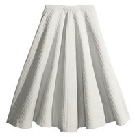 Pattern-weave Skirt - from H&M