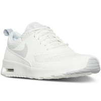 Nike Women's Air Max Thea Textile Running Sneakers from Finish Line - Finish Line Athletic Shoes - Shoes - Macy's