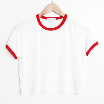 Solid Ringer Tee