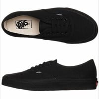 Vans Atwood Low Women's Black Canvas Skate Shoes Black