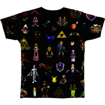 Ocarina of Time Tee from No Face Neko