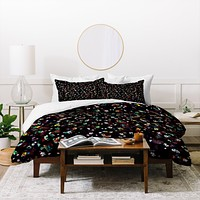 CayenaBlanca Midnight Duvet Cover