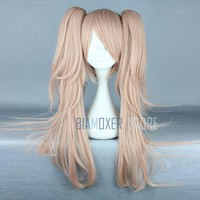 Biamoxer Anime Dangan Ronpa Enoshima Junko Wig Cosplay Costume Danganronpa Women Hair Halloween Women Wigs