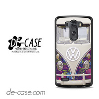 Vw Floral Bus For LG G3 Case Phone Case Gift Present YO