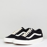 Vans Old Skool Unisex Sneakers In Black Suede at asos.com