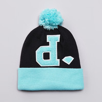 Flatspot - Diamond UnPolo Pom Pom Beanie Diamond Blue / Black