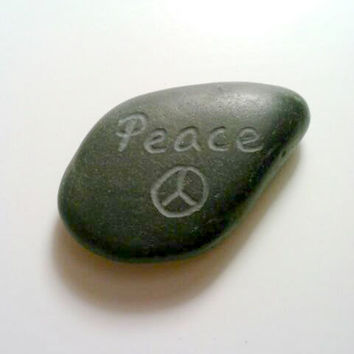 Personalized Stones, Engraved Rocks, ONE Custom Rock, Stone Paperweight