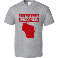 Unisex Wisconsin is My Home State T-Shirt