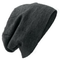 District - Slouch Beani OSFA Charcoal Heather
