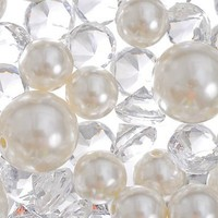 Gem and Pearl Scatter 7.5oz -Table Decorations -Bridal Shower -Special Occasions - Party City